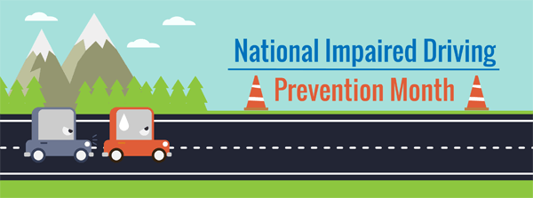 impaired driving statistics infographic, national impaired driving prevention month