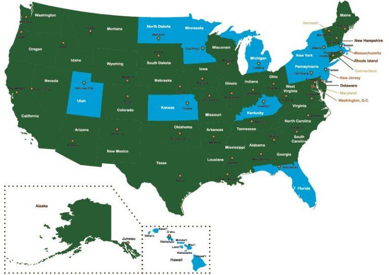 no fault car accident map