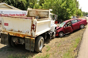 Truck driver error